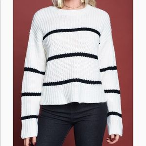 NWT Vestique striped sweater